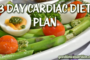 3 Day Cardiac Diet Plan